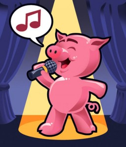 Teaching a Pig to Sing...